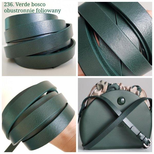 Zaczepy HYMO SHARM - Skóra (komplet 2 szt) z łańcuszkiem ozdobnym