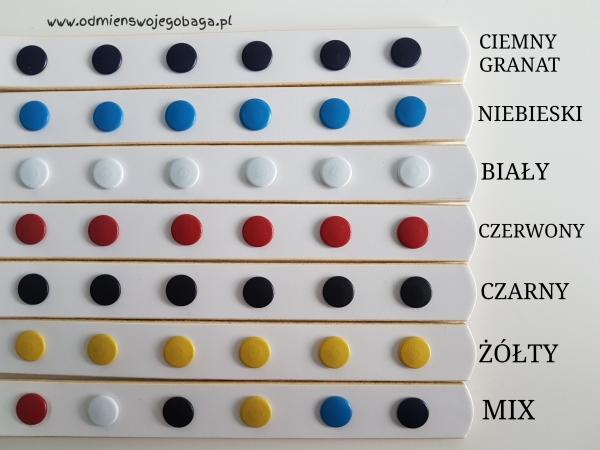 Pasek Multicolor z łańcuszkiem