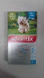 Advantix Spot-On M krople pies do 4-10kg 1szt.