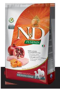 Farmina N&d Pumpkin Chicken & Pomegranate Adult Mini 2,5g