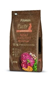 Fitmin Dog Purity Adult Grain Free Beef 12kg