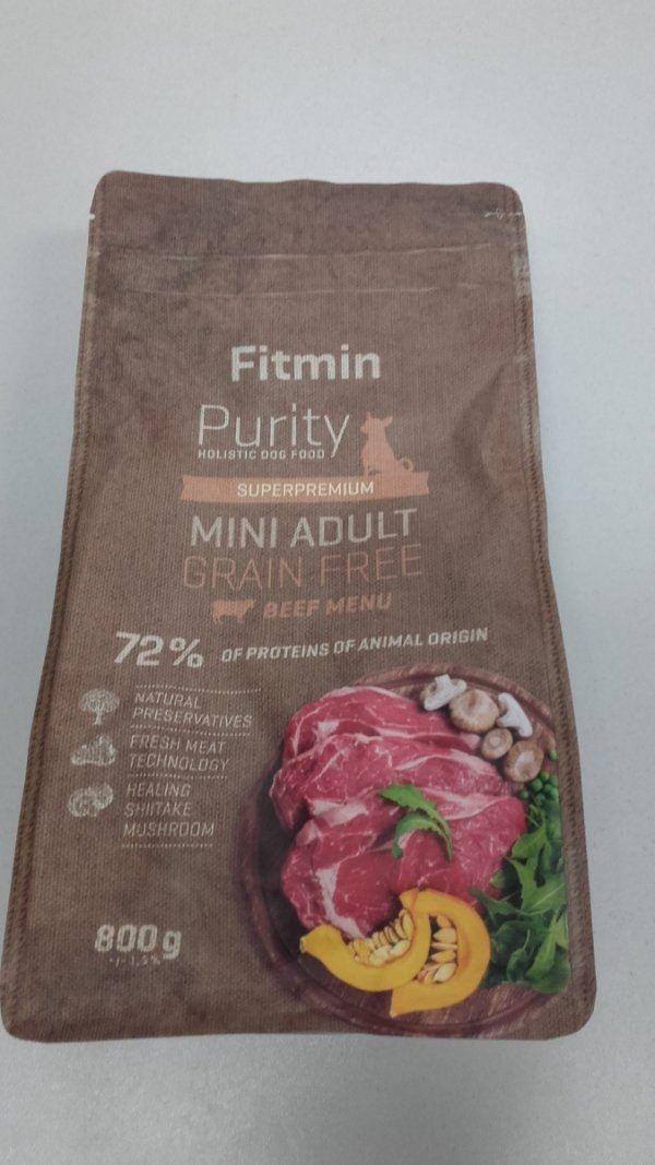 Fitmin dog Purity Mini Beef 800g