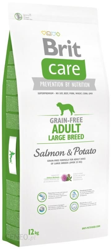 Brit Care Grain Free Adult Large Breed Salmon 3kg