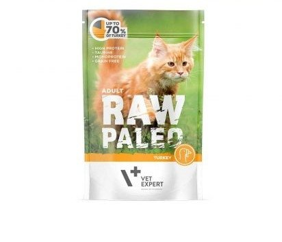 VETEXPERT RAW PALEO ADULT TURKEY 100g