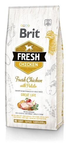 Brit Fresh Chicken with Poato 2,5kg