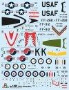 Italeri 1452 North American F-51D Mustang Korean War 1/72