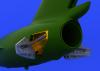 Eduard 672021 MiG-15 airbrakes 1/72 (Eduard)