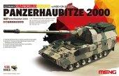 Meng Model TS-019 GERMAN SELF-PROPELLED HOWITZER PANZERHAUBITZE 2000 w/ADD-ON ARMOUR 1/35