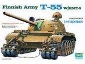 Trumpeter 00341 Finnish Army T-55 W/KMT-5 (1:35)