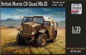 Mirror Models 35401 BRITISH MORRIS C8 QUAD MK III LATE (1:35)
