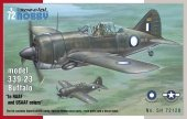 Special Hobby 72128 Buffalo model 339-23 In RAAF and USAAF colors (1:72)