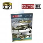 AMMO of Mig Jimenez 6502 WWII LUFTWAFFE LATE FIGHTERS SOLUTION BOOK (Multilingual)