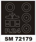Montex SM72179 PZL P-24 AZUR 1/72