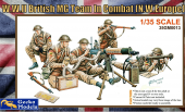 Gecko Models 35GM0013 WWII BRITISH MG TEAM IN COMBAT (1:35)