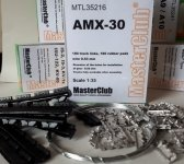 MasterClub MTL-35216 Tracks For AMX 30/Auf 1 SPG. 1/35