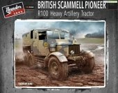 Thunder Model 35202 British Scammell Pioneer R100 artillery tractor 1/35