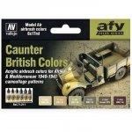 Vallejo 71211 British Caunter Colors (6x17ml)