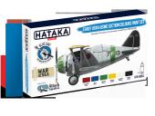 Hataka HTK-BS54 Early USN & USMC Section Colours paint set