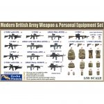 Gecko Models 35GM026 British Army Weapon & Equipment Set 1/35