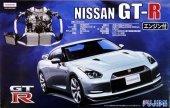 Fujimi 037943 Nissan GT-R (R35) w/Engine 1/24