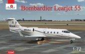 A-Model 72347 Bombardier Learjet 55 1:72