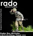 RADO Miniatures RDM35005 Under fire SS-Uscha. 5.SS-Pz.Div. Wiking Poland 1944 1/35