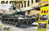 Dragon 6537 JS-2 Stalin II + Soviet Infantry Tank Riders 1/35