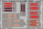 Eduard 32879 Seatbelts German WWI STEEL 1/32
