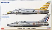 Hasegawa 02200 F-100D Super Saber Combo (2 kits) 1/72