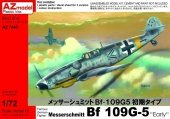 AZ Model AZ7445 Messerschmitt Bf-109G-5 Early (1:72)