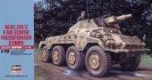 Hasegawa MT54 German Sdkfz 234/3 Schwere Panzerspahwagen Stummel (1:72)