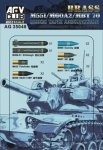 AFV Club AG35048 M551/M60A2/MBT 70 152mm TANK AMMUNITION 1:35