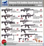 Bronco AB3537 Chinese PLA Soldier Small Arms Set 1/35