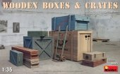 MiniArt 35581 Wooden Boxes & Crates 1:35