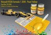 Zero Paints ZP-1396 Renault RS16 Formula 1 2016 - Pearl Yellow Set 2x30ml