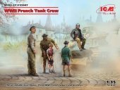 ICM 35647 WWII French Tank Crew (5 figures) 1/35