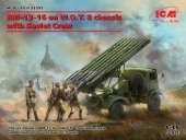 ICM 35592 BM-13-16 on W.O.T. 8 chassis with Soviet Crew 1/35