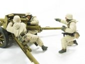 Hobby Fan HF562 GERMAN PAK40 EASTERN FRONT -3 FIGURES