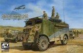 AFV Club 35235 Rommels Mammoth DAK Armoured Command Car
