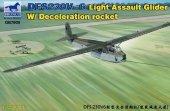 Bronco GB7009 Light Assault Glider with Deceleration Rocket 1/72