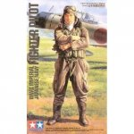 Tamiya 36312 WWII Imperial Japanese Navy Fighter Pilot (1:16)