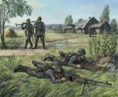 Zvezda 6216 German anti-tank rifle team (1:72)