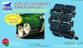 Bronco AB3524 AS90 SPG Workable Track Link Set 1/35
