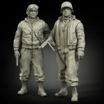 Panzer Art FI35-006 US Army tanker in winter clothes set 1/35