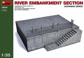 MiniArt 36044 RIVER EMBANKMENT SECTION (1:35)