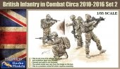 Gecko Models 35GM016 British Infantry in combat Circa 2010-12 SET 2 1/35