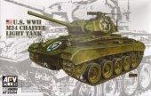 AFV Club 35054 U.S. WWII M24 Chaffee Light Tank (1:35)