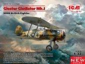 ICM 32040 Gloster Gladiator Mk.I, WWII British Fighter 1/32