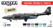 Hataka HTK-AS46 Polish Navy / Air Force TS-11 paint set