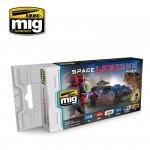 AMMO of Mig Jimenez 7153 Space Legions - Acrylic Paint Set (6x17ml)